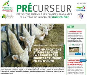 Précurseur 8 - RECOMMANDATIONS  ET REPÈRES POUR  LA REPOUSSE DES  BROUTARDS VENDUS  EN FIN D'HIVER